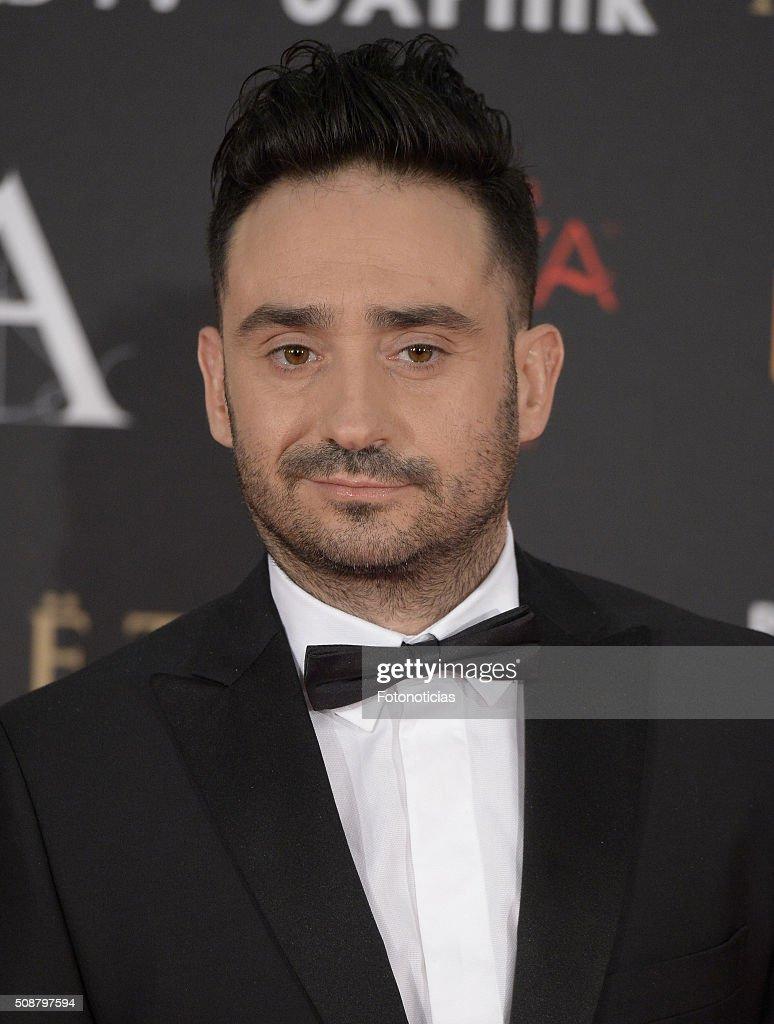 Juan Antonio Bayona attends the Goya Cinema Awards 2016 Ceremony at Madrid Marriott Auditorium on February 6, 2016 in Madrid, Spain.