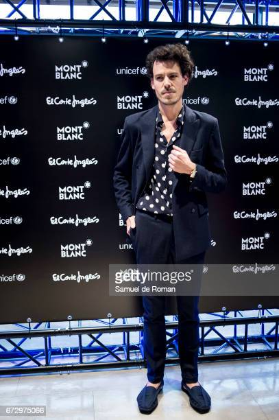 Juan Avellaneda attends the Montblanc Presents Charity Collection For UNICEF on April 25 2017 in Madrid Spain