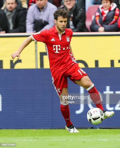 Juan Bernat of Bayern Munich controls the ball during the Bundesliga match between 1 FC Koeln and Bayern Muenchen at RheinEnergieStadion on March 4...