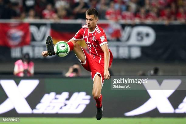 Juan Bernat of FC Bayern during the 2017 International Champions Cup China match between FC Bayern and Arsenal FC at Shanghai Stadium on July 19 2017...