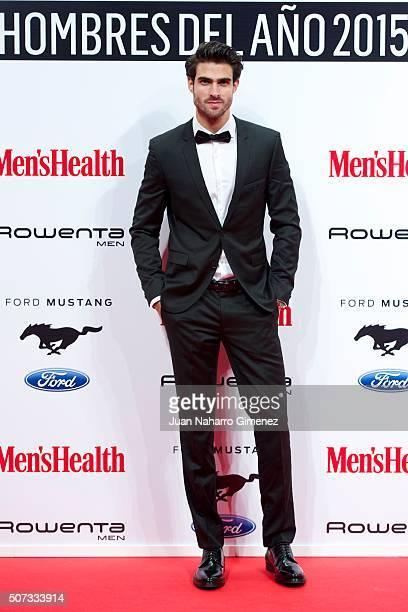 Juan Betancourt attends Men's Health 2015 Awards on January 28 2016 in Madrid Spain