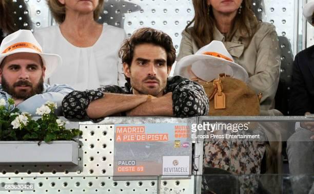Juan Betancourt attends Mutua Madrid Open tennis at La Caja Magica on May 12 2017 in Madrid Spain