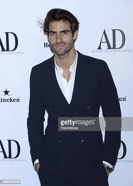 Juan Betancourt attends the AD Architectural Digest 2015 Awards at The Ritz Hotel on March 12 2015 in Madrid Spain