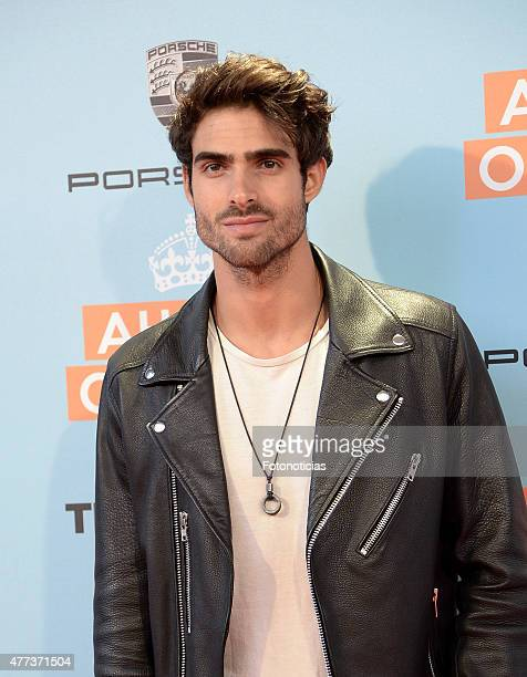 Juan Betancourt attends the 'Ahora o Nunca' premiere at Capitol Cinema on June 16 2015 in Madrid Spain