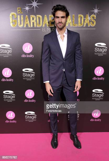 Juan Betancourt attends the 'El Guardaespaldas' musical premiere at the Coliseum Theater on September 28 2017 in Madrid Spain