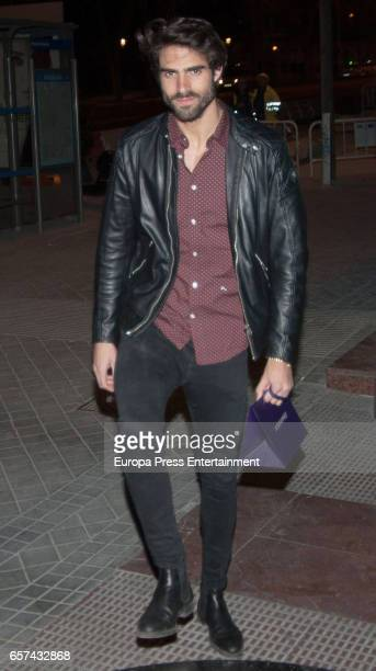 Juan Betancourt attends the Monica Cruz's 40th birthday party on March 14 2017 in Madrid Spain