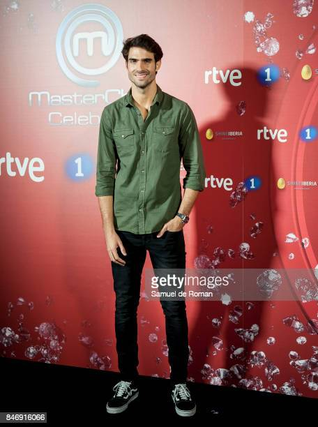 Juan Betancourt during 'MasterChef Celebrity' 2 presentation on September 14 2017 in Madrid Spain