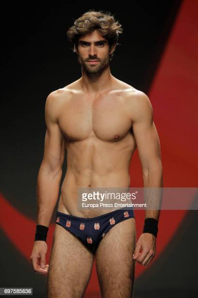 Juan Betancourt walks the catwalk during Gran Canaria Moda Calida Fashion Show on June 18 2017 in Maspalomas Spain
