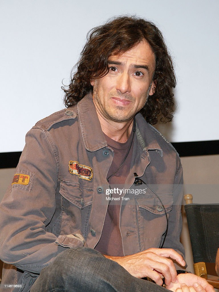 Juan Calleros of Mana during Mana Celebrates The Release of Their New CD 'Amar Es Combatir' on Warner Music Latina at Museum of Television and Radio in Beverly Hills, California, United States.