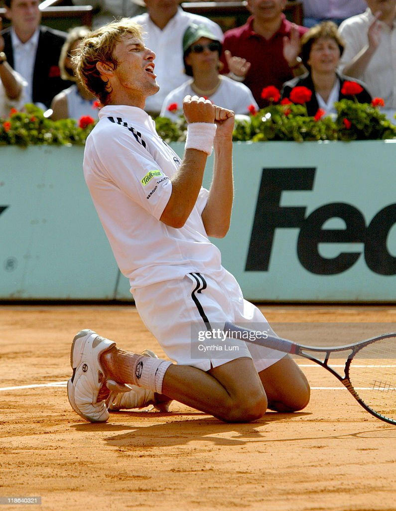 French Open 2003 - Men's Final - Juan Carlos Ferrero vs Martin Verkerk
