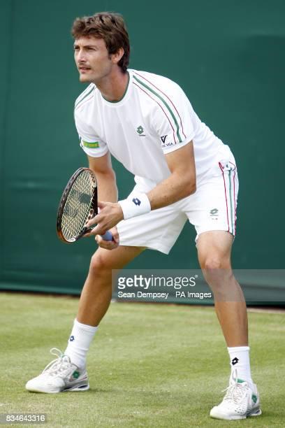 Juan Carlos Ferrero during his match against MischaZverev