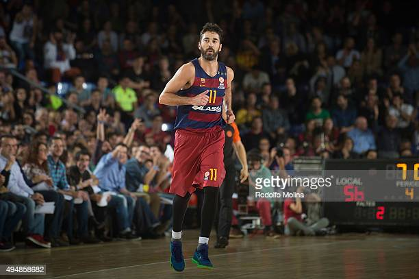 Juan Carlos Navarro of FC Barcelona Lassa in action during the Turkish Airlines Euroleague Regular Season date 3 game between FC Barcelona Lassa v...