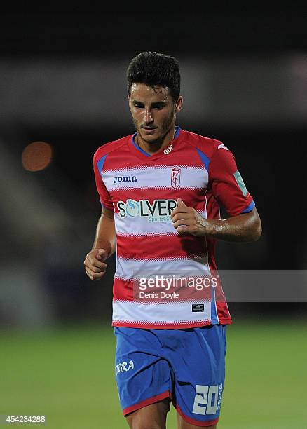 Juan Carlos of Granada CF looks on during the La liga match between Granada CF and RC Deportivo La Coruna at Estadio Nuevo Los Carmenes on August 23...