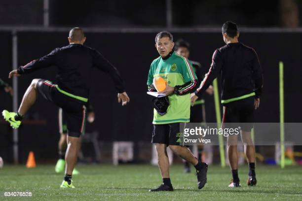 Juan Carlos Osorio during a training session at Peter Johann Memorial Field on February 06 2017 in Las Vegas United States