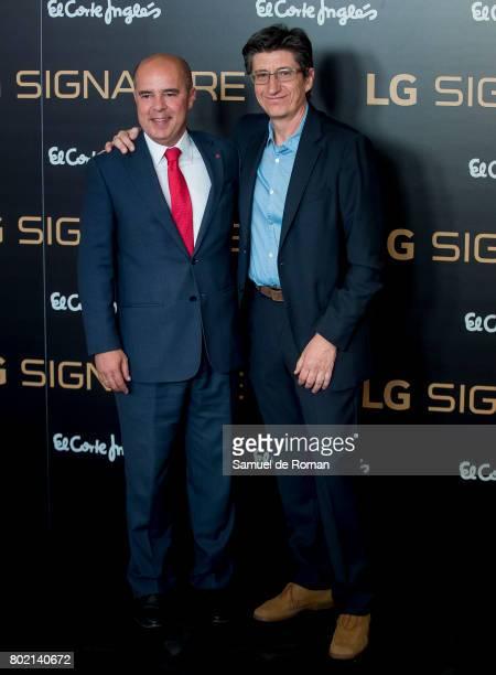 Juan Carlos Rivero attends LG Signature Presentation on June 27 2017 in Madrid Spain