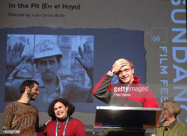 Juan Carlos Rulfo director of 'In the Pit' and winner of the World Cinema Jury Prize for Documentary