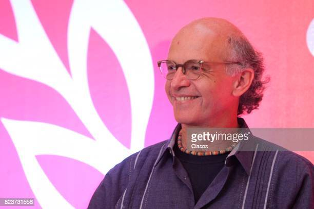 Juan Carlos Rulfo looks on during a press conference of 'Tres Directores Fuera de Cuadro' as part of Giff 2017 activities on July 27 2017 in...