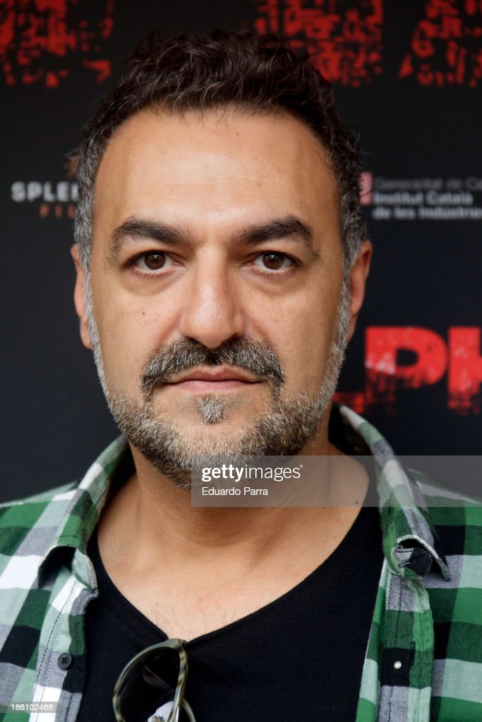Juan Carlos Vellido attends 'Alpha' press conference photocall at Princesa cinema on October 28, 2013 in Madrid, Spain.