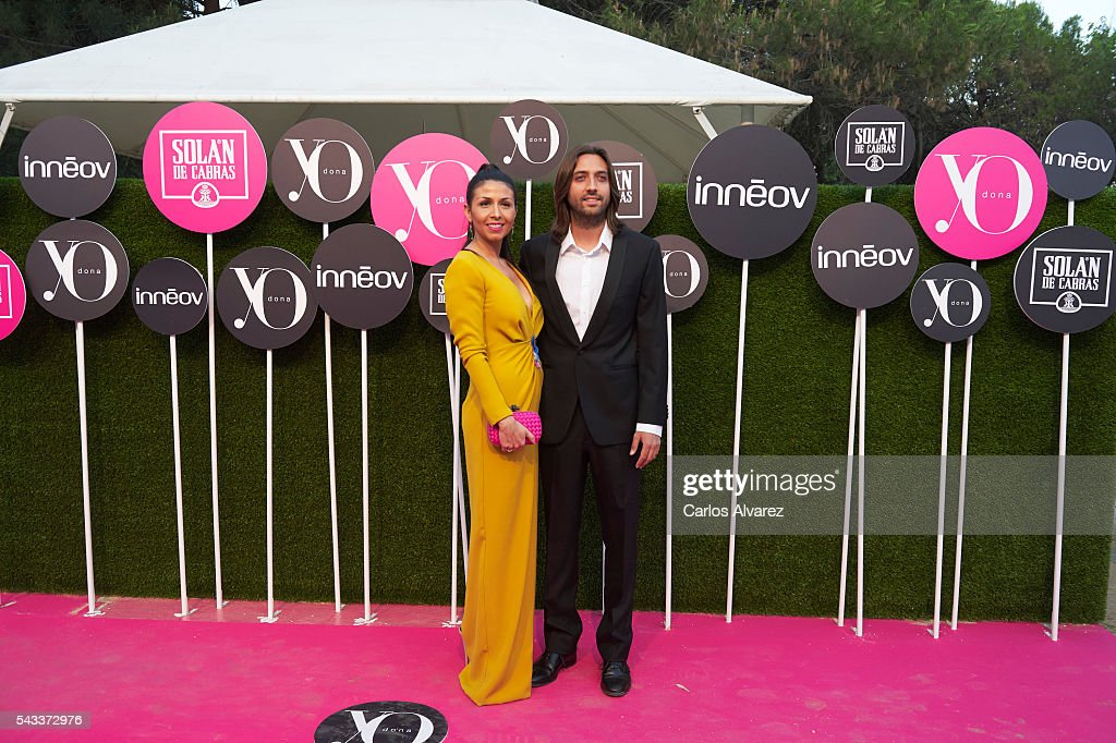Juan Carmona and Sara Verdasco attend 'Yo Dona' International awards on June 27, 2016 in Madrid, Spain.