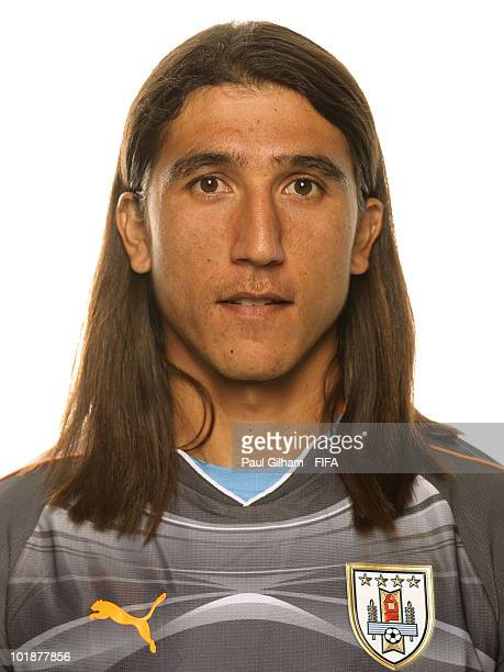 Juan Castillo of Uruguay poses during the official FIFA World Cup 2010 portrait session on June 7 2010 in Kimberley South Africa