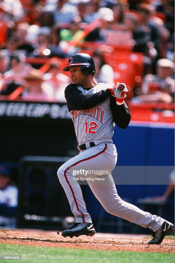 <a gi-track='captionPersonalityLinkClicked' href=/galleries/search?phrase=Juan+Castro&family=editorial&specificpeople=210684 ng-click='$event.stopPropagation()'>Juan Castro</a> of the Cincinnati Reds bats against the New York Mets during their game on April 15, 2001 at Shea Stadium in the Flushing neighborhood of the Queens borough of New York City.