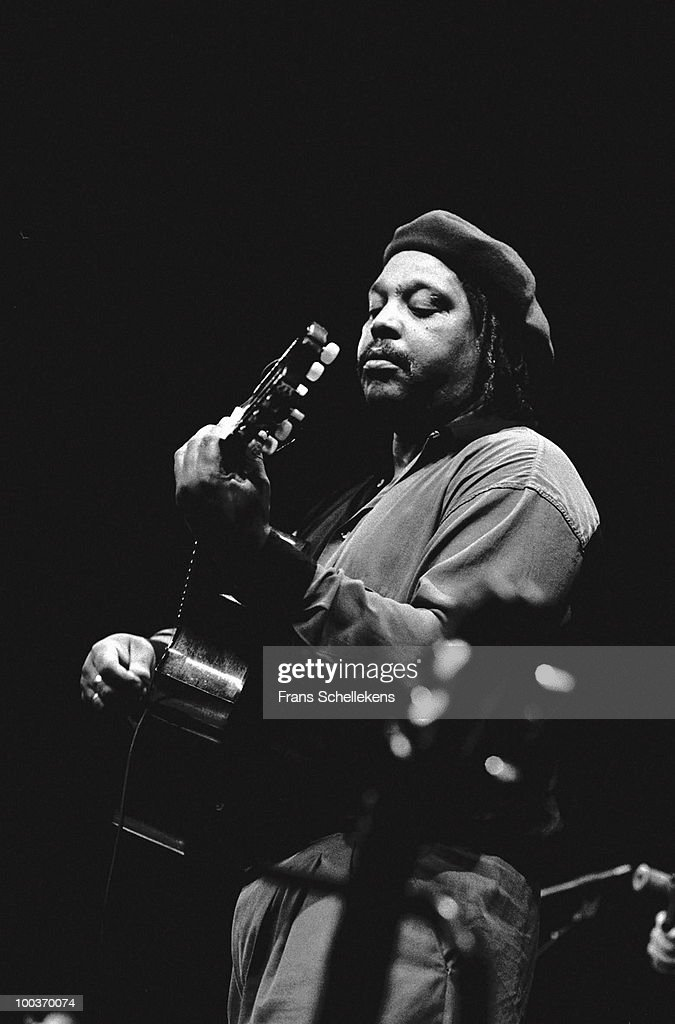 Juan de Marcos Gonzalez from Sierra Maestra and Buena Vista Social Club performs live on stage in Amsterdam, Netherlands on November 01 1997