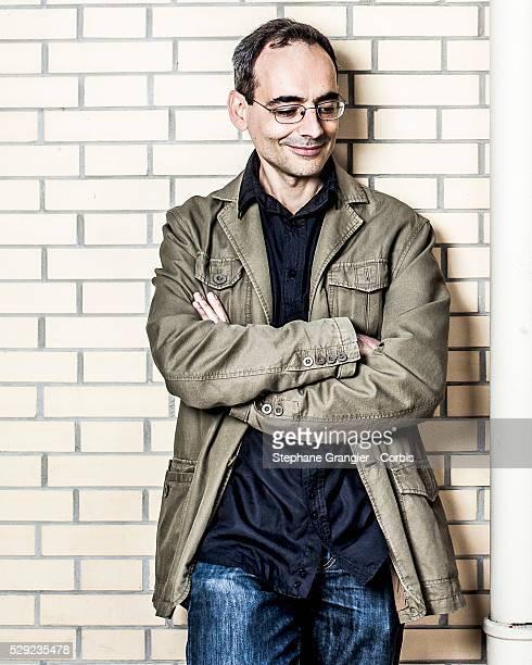 Juan Diaz Canales Author Writer Corto Maltese photographed in Paris