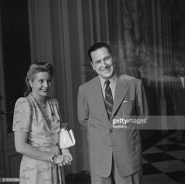 18951974 President of Argentina 194655 With his wife Evita