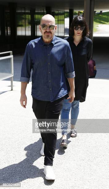 Juan Duyos attends the funeral chapel for the fashion designer David Delfin at Dress Museum on June 4 2017 in Madrid Spain