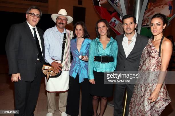 Juan Esteban Orduz Juan Valdez guest Maria Claudia LaCouture John Leguizamo and Mariana Suarez attend COLOMBIA Is PASSION Presents 'Discover Colombia...