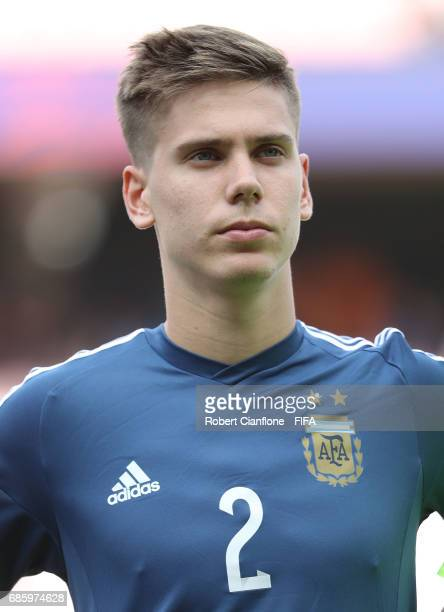 Juan Foyth of Argentina during the FIFA U20 World Cup Korea Republic 2017 group A match between Argentina and England at Jeonju World Cup Stadium on...