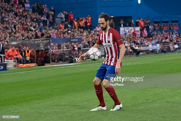 juan francisco of Atletico de Madrid during the UEFA Champions League semi final first leg match between Club Atletico de Madrid and FC Bayern Munich...
