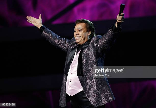 Juan Gabriel performs onstage at the 10th Annual Latin Grammy Awards held at Mandalay Bay on November 5 2009 in Las Vegas Nevada