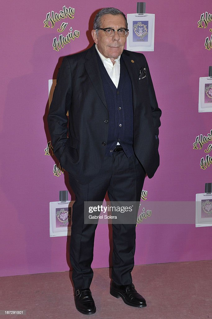Juan Gatti attends the presentation of the new fragrance from Alaska and Mario Vaquerizo in Madrid on November 7, 2013 in Madrid, Spain.