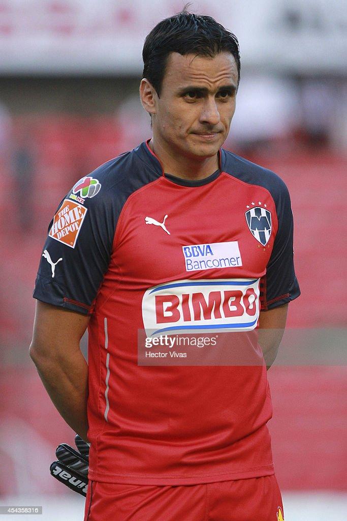 Juan Ibarra of Monterrey poses prior a match between Queretaro and Monterrey as part of 7th round Apertura 2014 Liga MX at Corregidora Stadium on August 29, 2014 in Queretaro, Mexico.