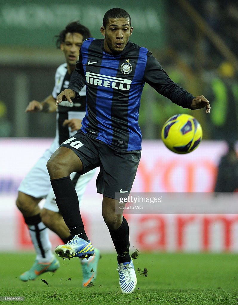 Juan Jesus of FC Inter Milan during the Serie A match between Parma FC and FC Internazionale Milano at Stadio Ennio Tardini on November 26, 2012 in Parma, Italy.