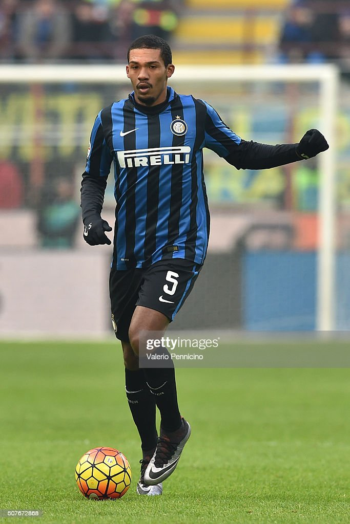 Juan Jesus of FC Internazionale Milano in action during the Serie A match between FC Internazionale Milano and Carpi FC at Stadio Giuseppe Meazza on January 24, 2016 in Milan, Italy.