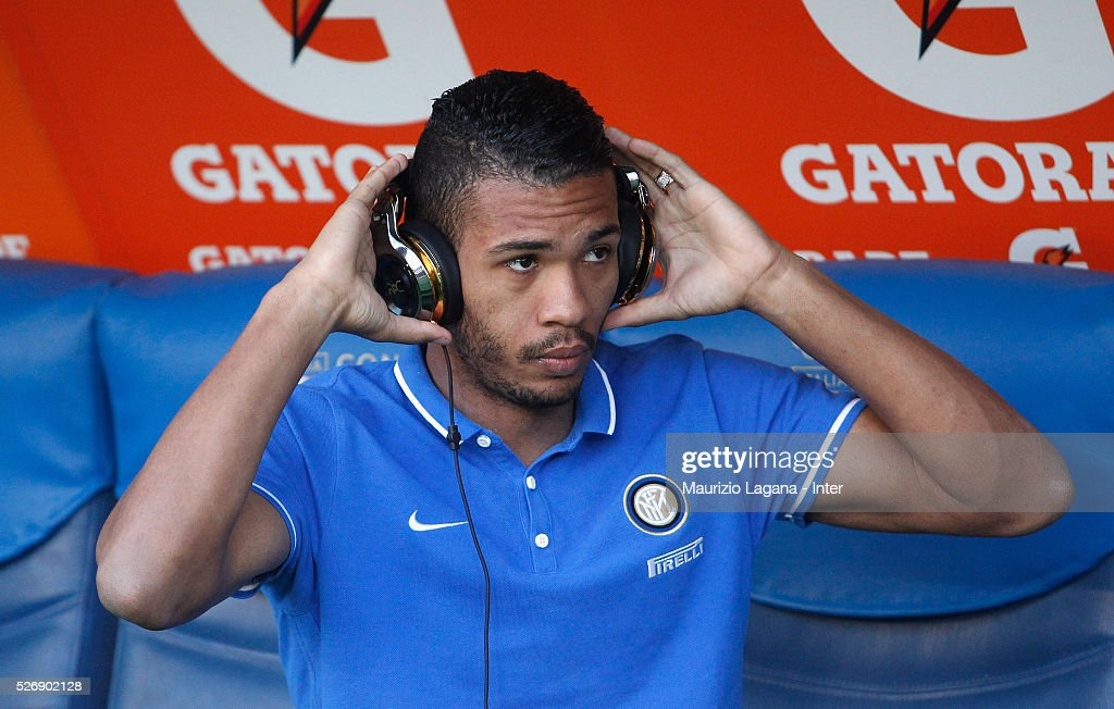 Juan Jesus of Inter before the Serie A match between SS Lazio and FC Internazionale Milano at Stadio Olimpico on May 1, 2016 in Rome, Italy.