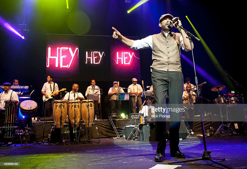 <a gi-track='captionPersonalityLinkClicked' href=/galleries/search?phrase=Juan+Luis+Guerra&family=editorial&specificpeople=208921 ng-click='$event.stopPropagation()'>Juan Luis Guerra</a> performs at O2 Academy Brixton on July 14, 2015 in London, England.