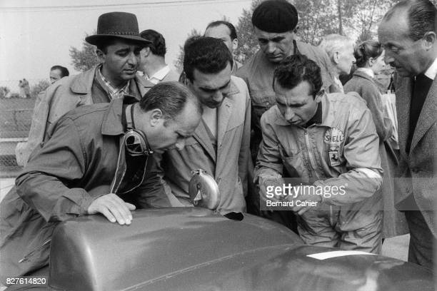 Juan Manuel Fangio Ferrari 860 monza Grand Prix of Nurburgring Nurburgring 27 May 1956