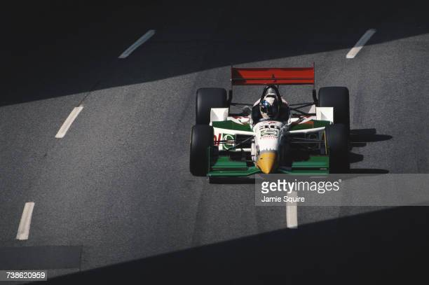 Juan Manuel Fangio II of Argentina drives the All American Racers Reynard 97i Toyota RV8A V8t during practice for the Championship Auto Racing Teams...
