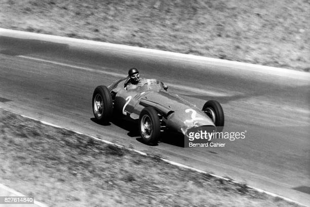 Juan Manuel Fangio Maserati 250F Grand Prix of France RouenLesEssarts 07 July 1957