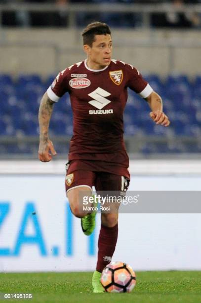 Juan manuel Iturbe of FC Torino during the Serie A match between SS Lazio and FC Torino at Stadio Olimpico on March 13 2017 in Rome Italy