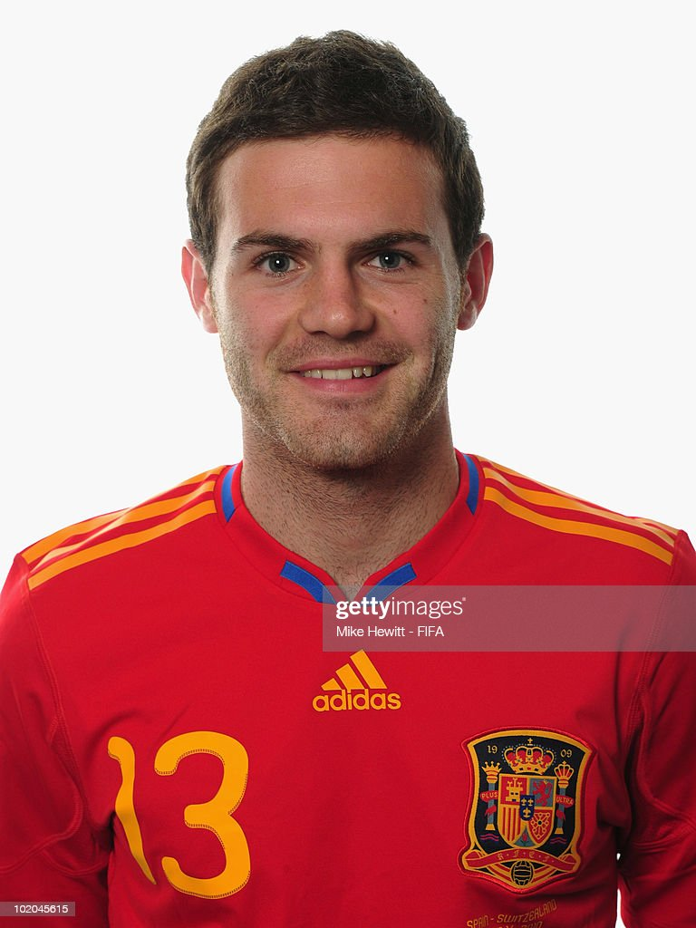 Juan Manuel Mata of Spain poses during the official Fifa World Cup 2010 portrait session on June 13, 2010 in Potchefstroom, South Africa.