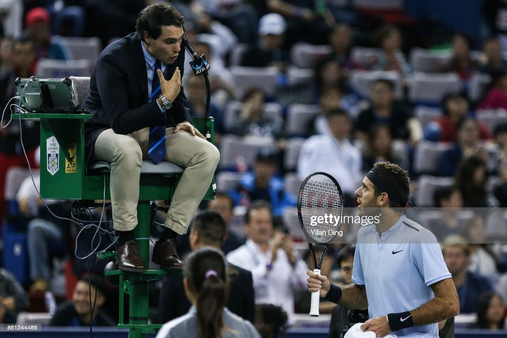 2017 ATP 1000 Shanghai Rolex Masters - Day 7 : News Photo