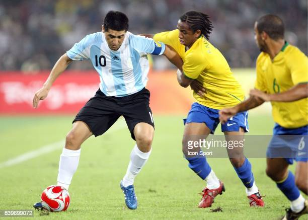 Juan Martin RIQUELME / ANDERSON Bresil / Argentine 1/2 Finale Jeux Olympiques Pekin 2008