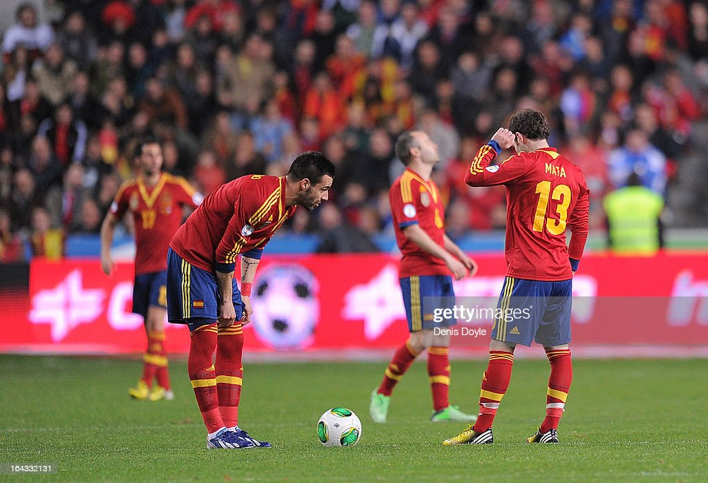 Spain v Finland - FIFA 2014 World Cup Qualifier