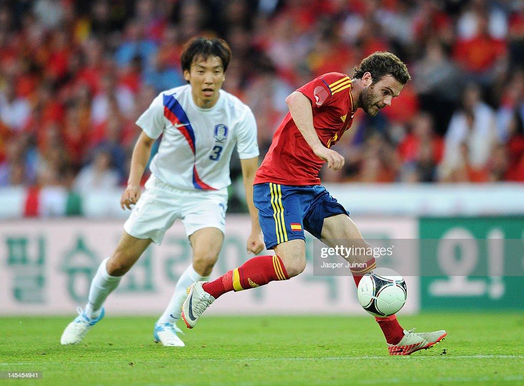 Spain v Korea Republic International Friendly