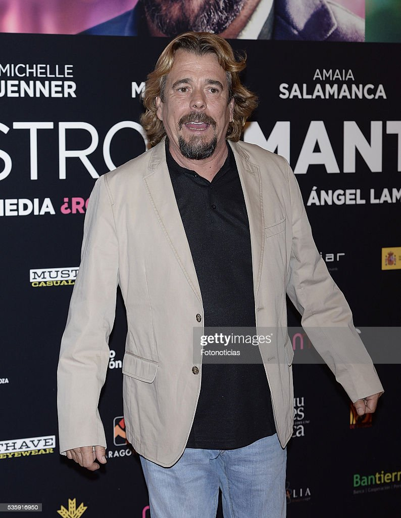 Juan Munoz attends the 'Nuestros Amantes' premiere at Palafox cinema on May 30, 2016 in Madrid, Spain.