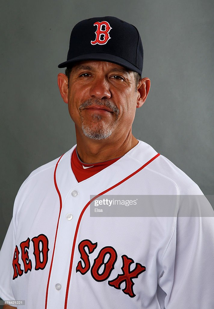 Juan Nieves #47 of the Boston Red Sox poses for a portrait during Boston Red Sox Photo Day on February 23, 2014 at JetBlue Park in Fort Myers, Florida.